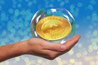 bitcoin in a bubble