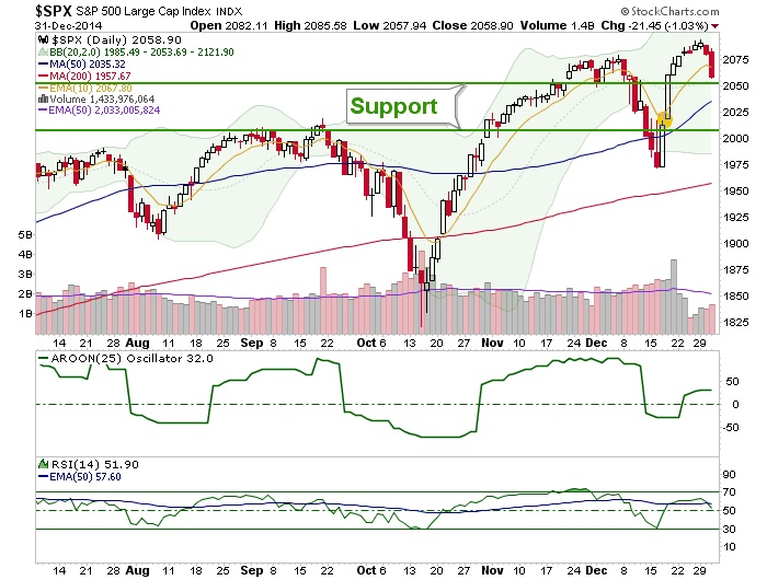 S&P500 large cap support
